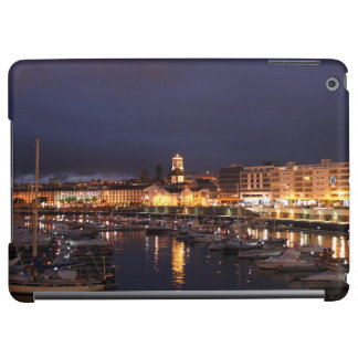 Ponta Delgada at night iPad Air Cases
