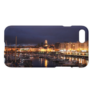 Ponta Delgada at night iPhone 7 Case