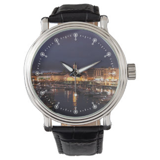 Ponta Delgada at night Wrist Watch