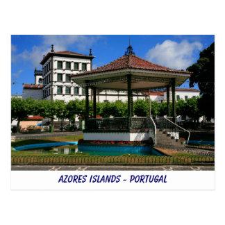 Ponta Delgada - Azores Postcard
