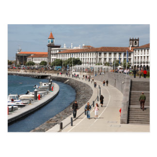 Ponta Delgada, Azores Postcard