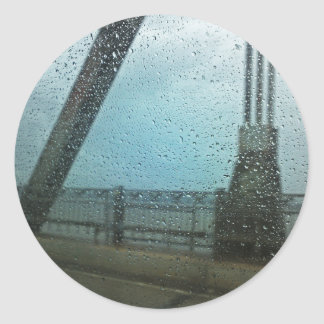 Pontchartrain Storm Round Sticker