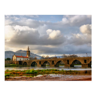 Ponte de Lima bridge Postcard