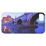 Ponte Sant' Angelo and Castel Sant' Angelo over iPhone 5 Covers