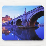 Ponte Sant' Angelo and Castel Sant' Angelo over Mouse Pad