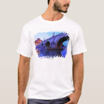 Ponte Sant' Angelo and Castel Sant' Angelo over T-Shirt