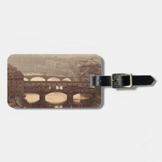 Ponte Vecchio and Arno Luggage Tag