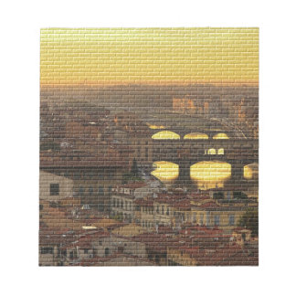 Ponte Vecchio  Bridge Notepad
