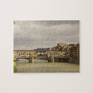 Ponte Vecchio Florence Italy Jigsaw Puzzle