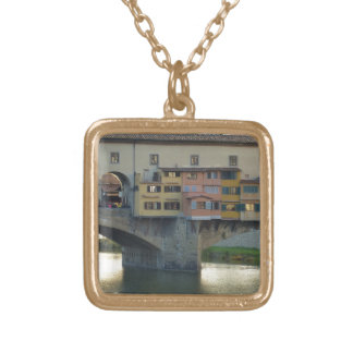 Ponte Vecchio Gold Plated Necklace