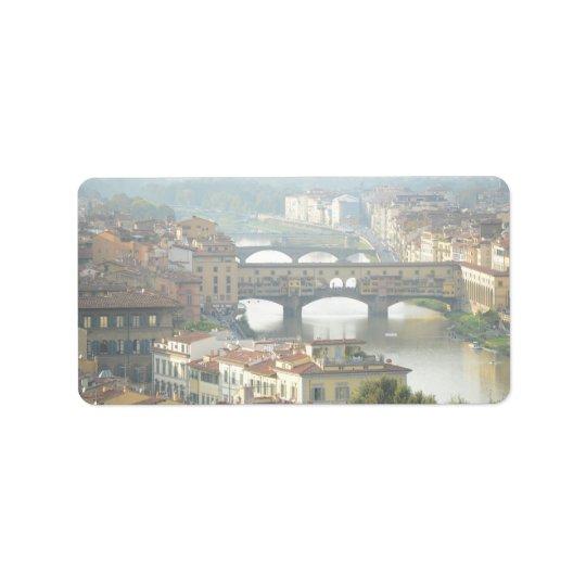 Ponte Vecchio Old Bridge Florence Italy
