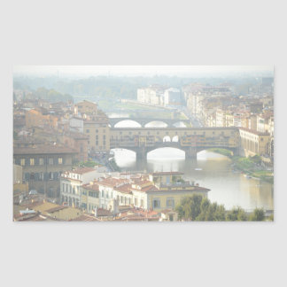 Ponte Vecchio Old Bridge Florence Italy Sticker