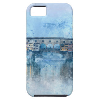 Ponte Vecchio on the river Arno in Florence, Italy iPhone 5 Cases
