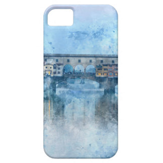 Ponte Vecchio on the river Arno in Florence, Italy iPhone 5 Cover
