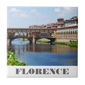 Ponte Vecchio Tile