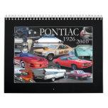 PONTIAC CALENDAR- 2011 CALENDARS