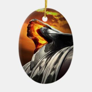 Pontiac Chieftain Sunset Poncho Ornament