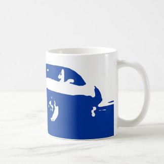 Pontiac Firebird, 1969 - Blue on light bkdg mug