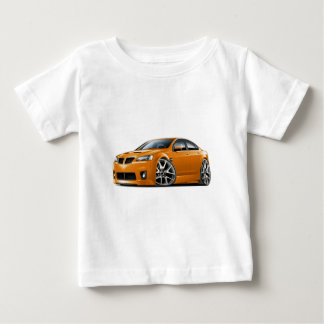 Pontiac G8 GXP Orange Car Baby T-Shirt