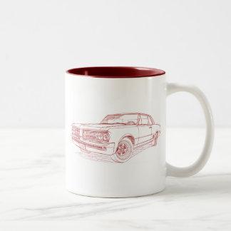 Pontiac GTO 1964 Two-Tone Coffee Mug