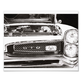 Pontiac GTO Photo Print