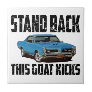 Pontiac GTO Stand Back This Goat Kicks Tile