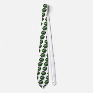pontiac lead sled green metal flake lowrider tie