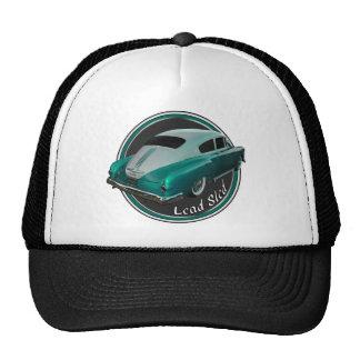 pontiac lead sled pearl lowrider trucker hat