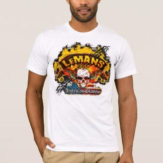 Pontiac LeMans - Burnout Banner Skull -n- Flag T-Shirt