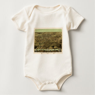 Pontiac Michigan 1867 Baby Bodysuit