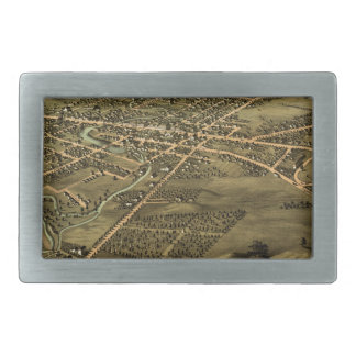 Pontiac Michigan 1867 Belt Buckles