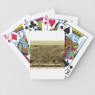 Pontiac Michigan 1867 Bicycle Playing Cards