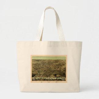 Pontiac Michigan 1867 Large Tote Bag