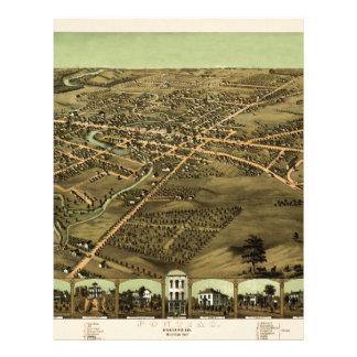 Pontiac Michigan 1867 Letterhead