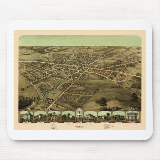 Pontiac Michigan 1867 Mouse Pad