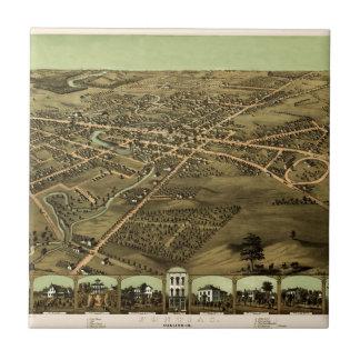 Pontiac Michigan 1867 Tile