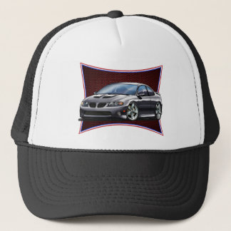 Pontiac_New_GTO_Black Trucker Hat