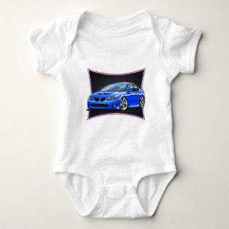 Pontiac_New_GTO_Blue Baby Bodysuit