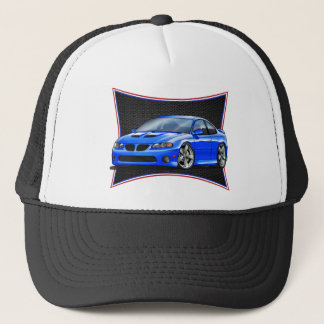Pontiac_New_GTO_Blue Trucker Hat