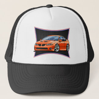 Pontiac_New_GTO_Orange Trucker Hat
