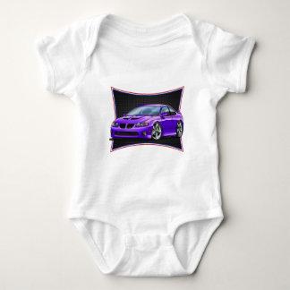 Pontiac_New_GTO_Purple Baby Bodysuit