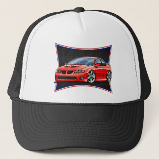 Pontiac_New_GTO_Red Trucker Hat