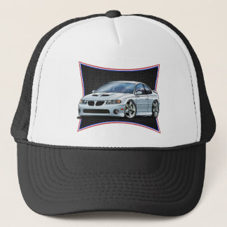 Pontiac_New_GTO_White Trucker Hat