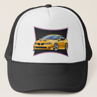 Pontiac_New_GTO_Yellow Trucker Hat