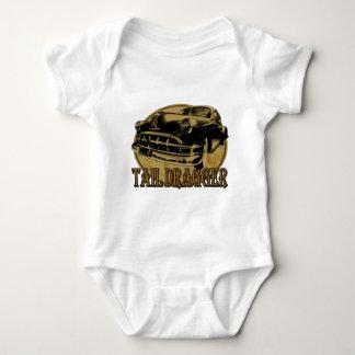 Pontiac Tail Draggin Lowrider Baby Bodysuit