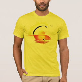 Pontocentral PARAGLIDING SETTING SUN T-Shirt