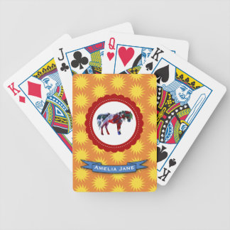 Pony and Sun Bicycle Playing Cards
