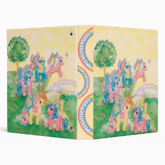 Pony Butterfly Wings 3 Ring Binders