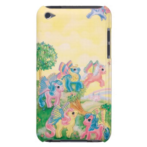 Pony Butterfly Wings iPod Touch Case
