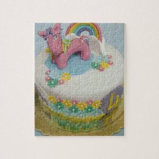 Pony cake 1 jigsaw puzzle